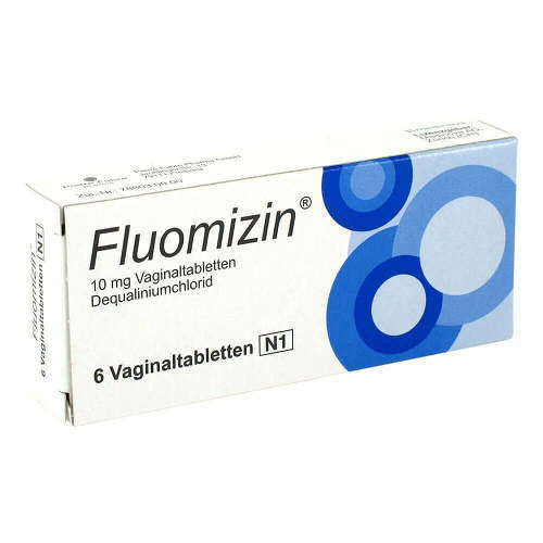 Fluomizin 10 mg Vaginaltabletten - 1