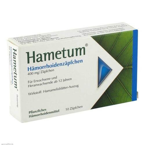 Hametum Hämorrhoiden Zäpfchen - 1
