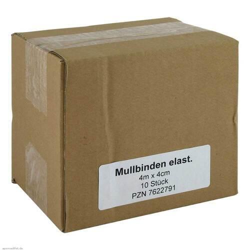 Mullbinden 4mx4cm elastisch - 1