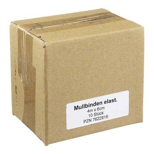 Mullbinden 4mx6cm elastisch - 1