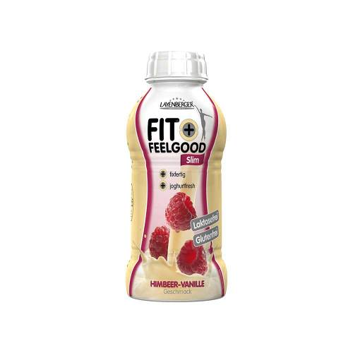 Layenberger Fit + Feelgood fixfertiger Diät-Shake Himbeer-Vanille - 1
