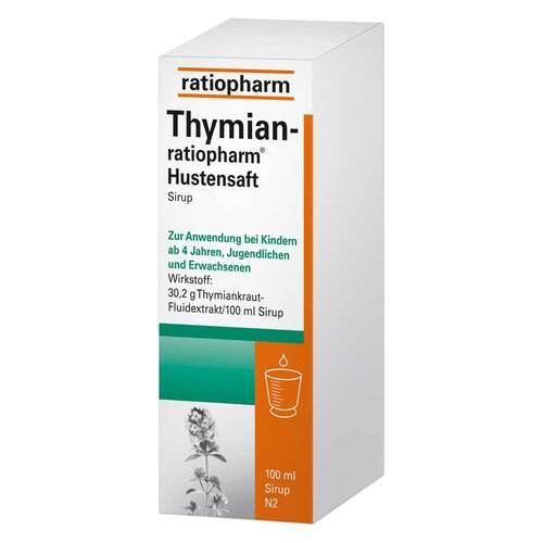 Thymian Ratiopharm Hustensaft - 1