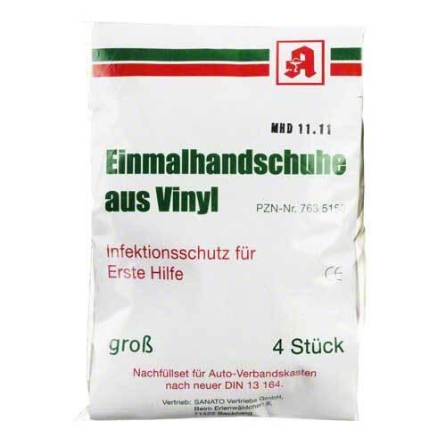 Aids Schutzhandschuhe Vinyl - 1