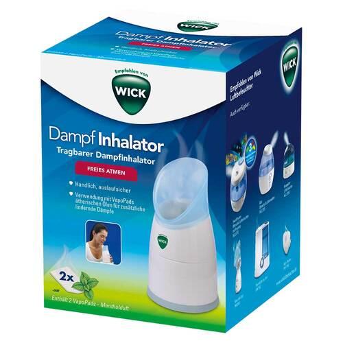 WICK Dampf Inhalator manuell - 1