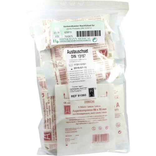 Verbandkasten Nachf.Set für sterile Prod. 13157-C - 1