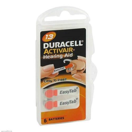 Batterien für Hörgeräte Duracell 13 - 1