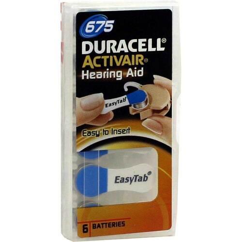 Batterien für Hörgeräte Duracell 675 - 1