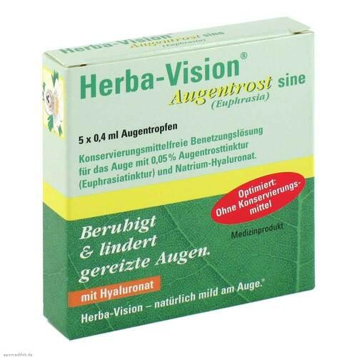 Herba-Vision Augentrost sine Augentropfen - 1