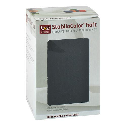 Bort Stabilocolor haft Binde 10cm schwarz - 1