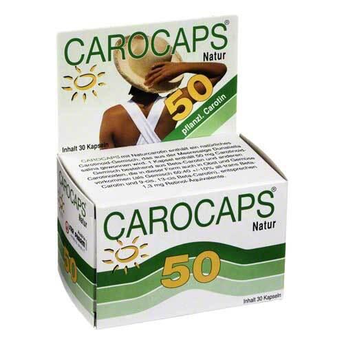 Carocaps 50 Natur Kapseln - 1