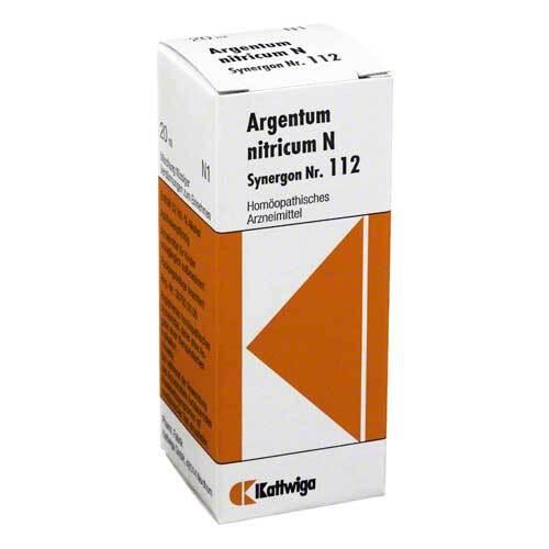 Synergon 112 Argentum nitric - 1