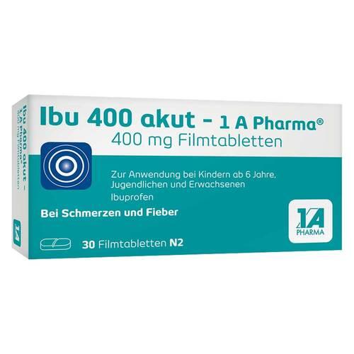Ibu 400 akut 1A Pharma Filmtabletten - 1