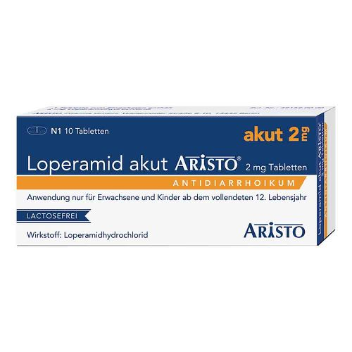 Loperamid akut Aristo 2 mg Tabletten - 1