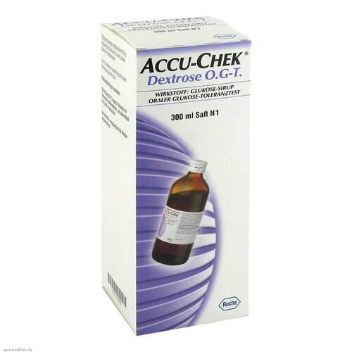 Accu Chek Dextrose O.G.-T. Saft - 1