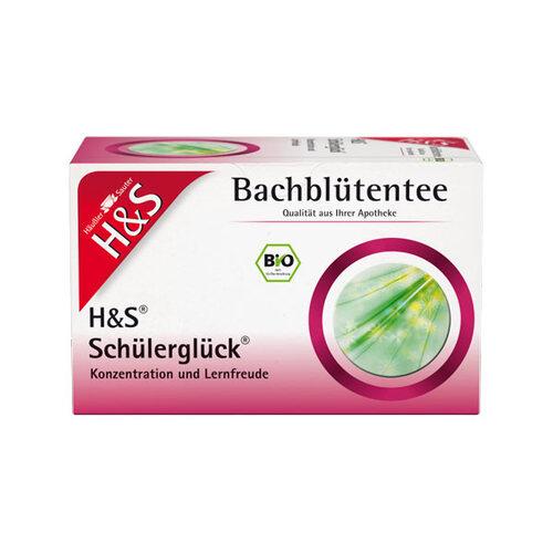 H&S Bachblüten Schülerglück-Tee Filterbeutel - 1