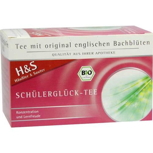 H&S Bachblüten Schülerglück-Tee Filterbeutel - 2
