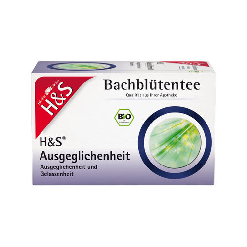 H&S Bachblüten Ausgeglichenheits-Tee Filterbeutel - 1