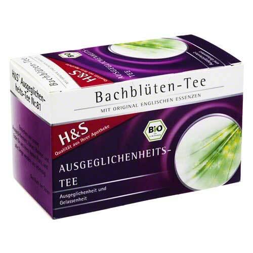 H&S Bachblüten Ausgeglichenheits-Tee Filterbeutel - 2