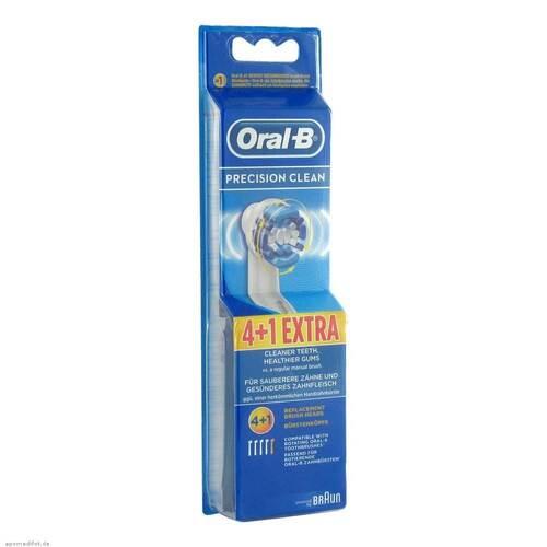 ORAL B Aufsteckbürsten Precision Clean 4 + 1 - 1