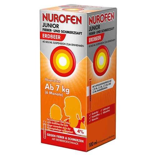 Nurofen Junior Fieber- und Schmerzsaft Erdbeer 40 mg / ml - 2