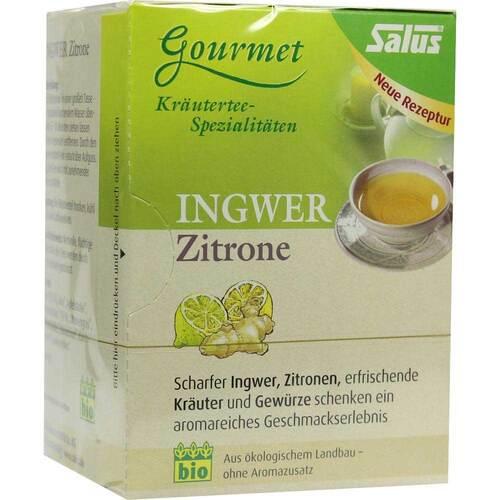 Ingwer Zitrone Tee Salus Filterbeutel - 1