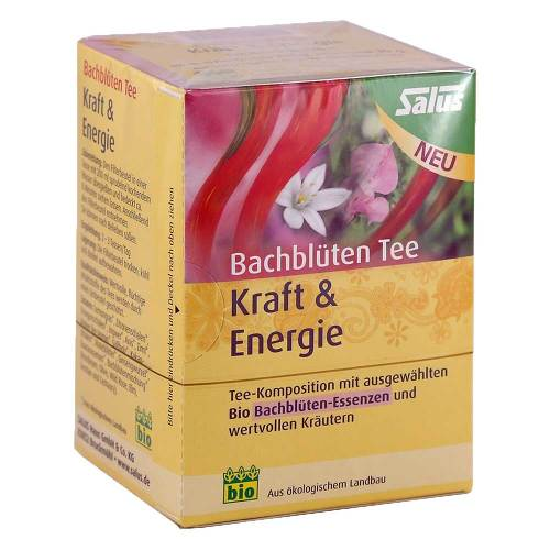 Bachblüten Tee Kraft & Energie bio Salus - 1