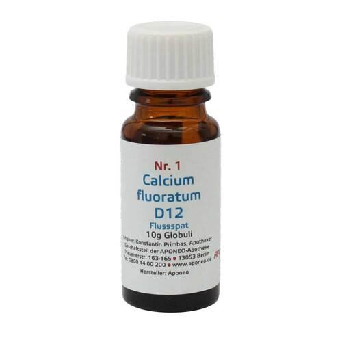 Biochemie 1 Calcium fluoratum D12 Globuli 1 St - 1