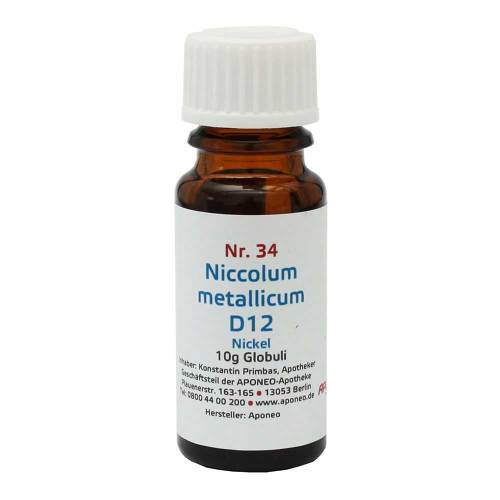 Biochemie 34 Niccolum metallicum D12 - 1
