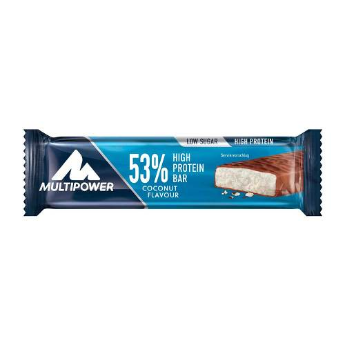 53% High Protein Bar Coconut - 1