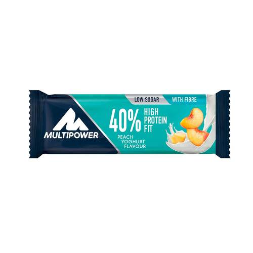 40% High Protein Fit Peach Yoghurt Riegel - 1