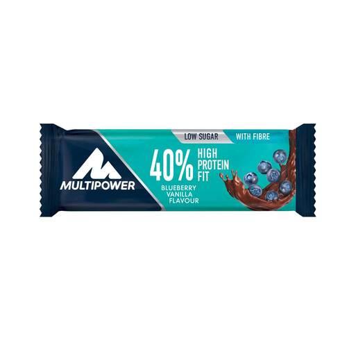 40% High Protein Fit Blueberry Vanilla Riegel - 1