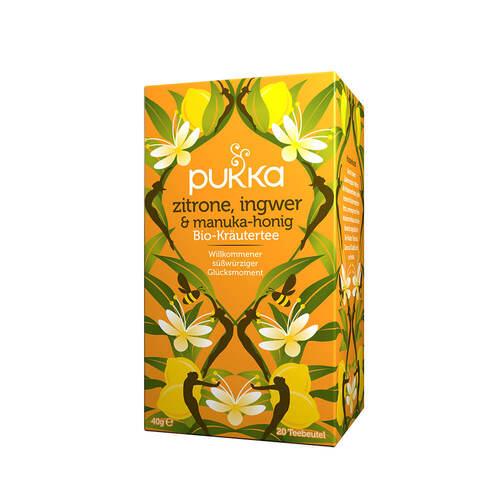 Pukka Zitrone, Ingwer, Manuka-Honig Tee - 1