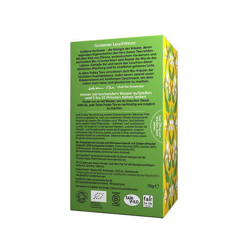Pukka Goldene Kurkuma Tee - 2