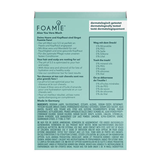Foamie Haarseife Aloe Vera - 3