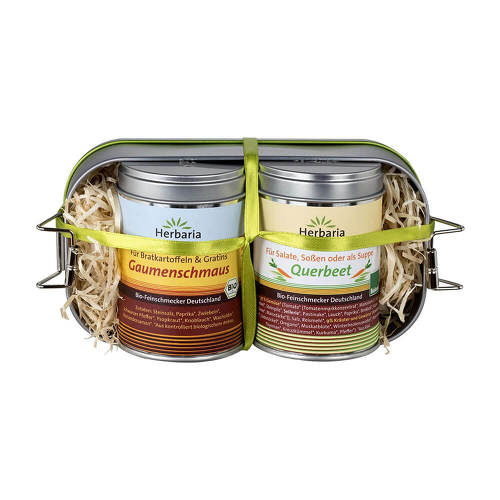 Herbaria Lunchbox mit Gaumenschmaus & Queerbeet Bio - 1