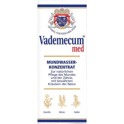 Vademecum med Mundwasserkonzentrat - 2