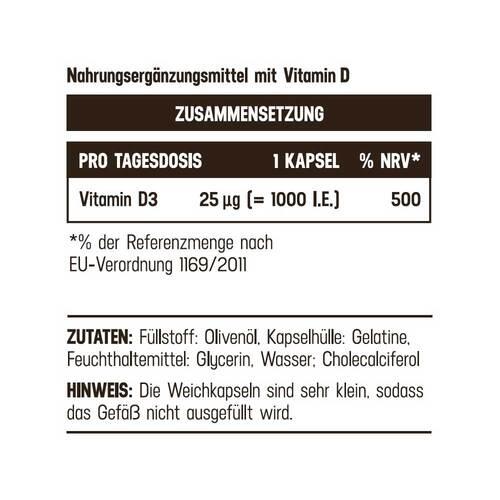Vitamin D3 Balasense 1000 IE - 2