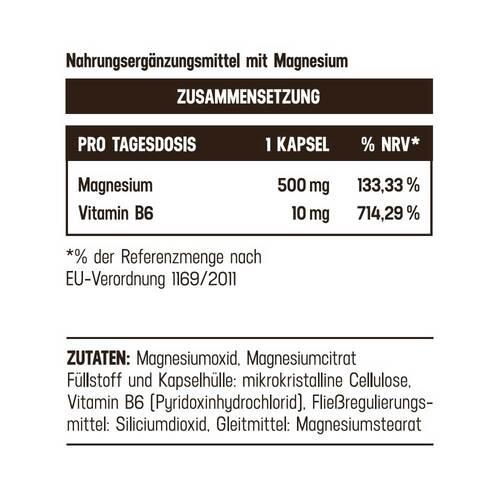 Magnesium Plus 500 mg Balasense Kapseln - 2