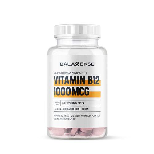 Vitamin B12 1000 µg hochdosiert Balasense vegan - 1