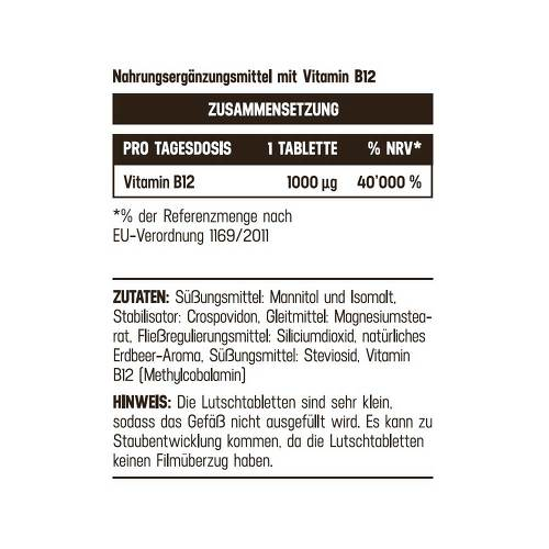 Vitamin B12 1000 µg hochdosiert Balasense vegan - 2