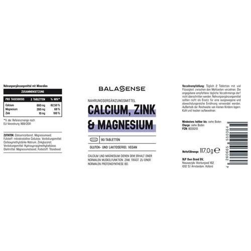 Calcium, Zink & Magnesium Balasense - 2
