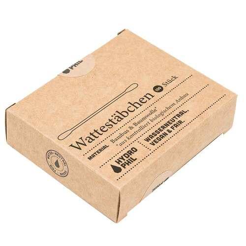 Wattestäbchen aus Bambus & Bio-Baumwolle Hydrophil - 2