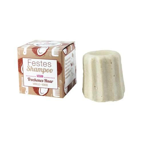 Lamazuna Festes Shampoo Vanille-Kokos - 1