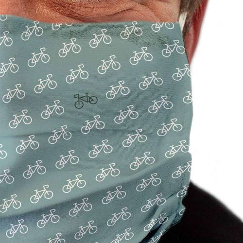 Stoffmaske waschbar Motiv Fahrrad - 4