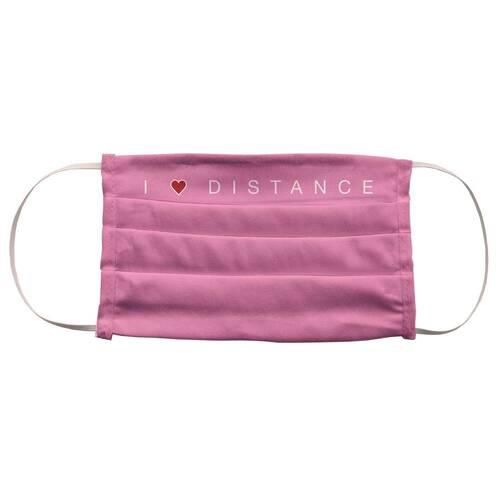 Stoffmaske waschbar Motiv I love Distance - 1