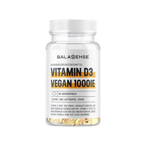 Vitamin D3 1000IE vegan Balasense - 1