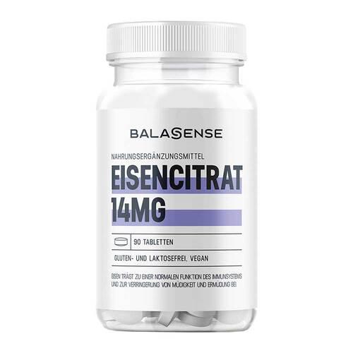 Eisencitrat Balasense 14mg - 1