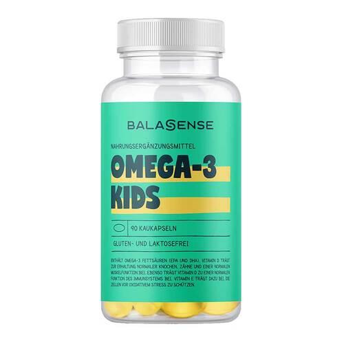 Omega-3 Kids mit Vitamin D + E Balasense - 1