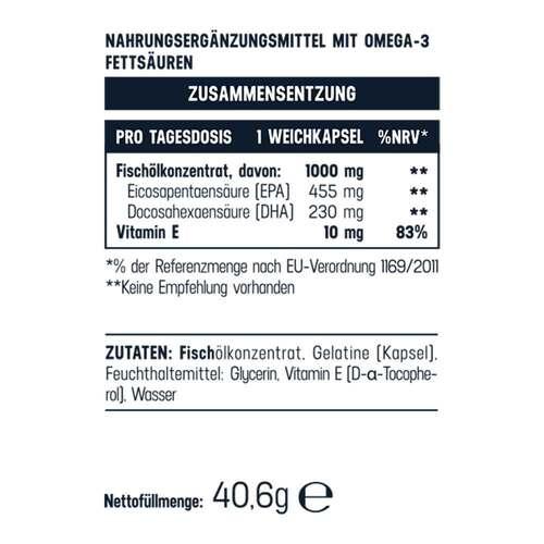 Omega-3 1000mg / 685mg Balasense 3-fachkonzentriert - 2