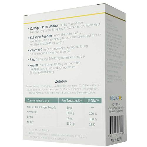 Collagen Pure Beauty 10 g Kollagen hochdosiert Gold-Edition - 2